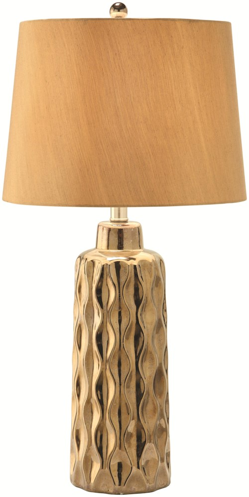 Coaster table lamps gold table lamp