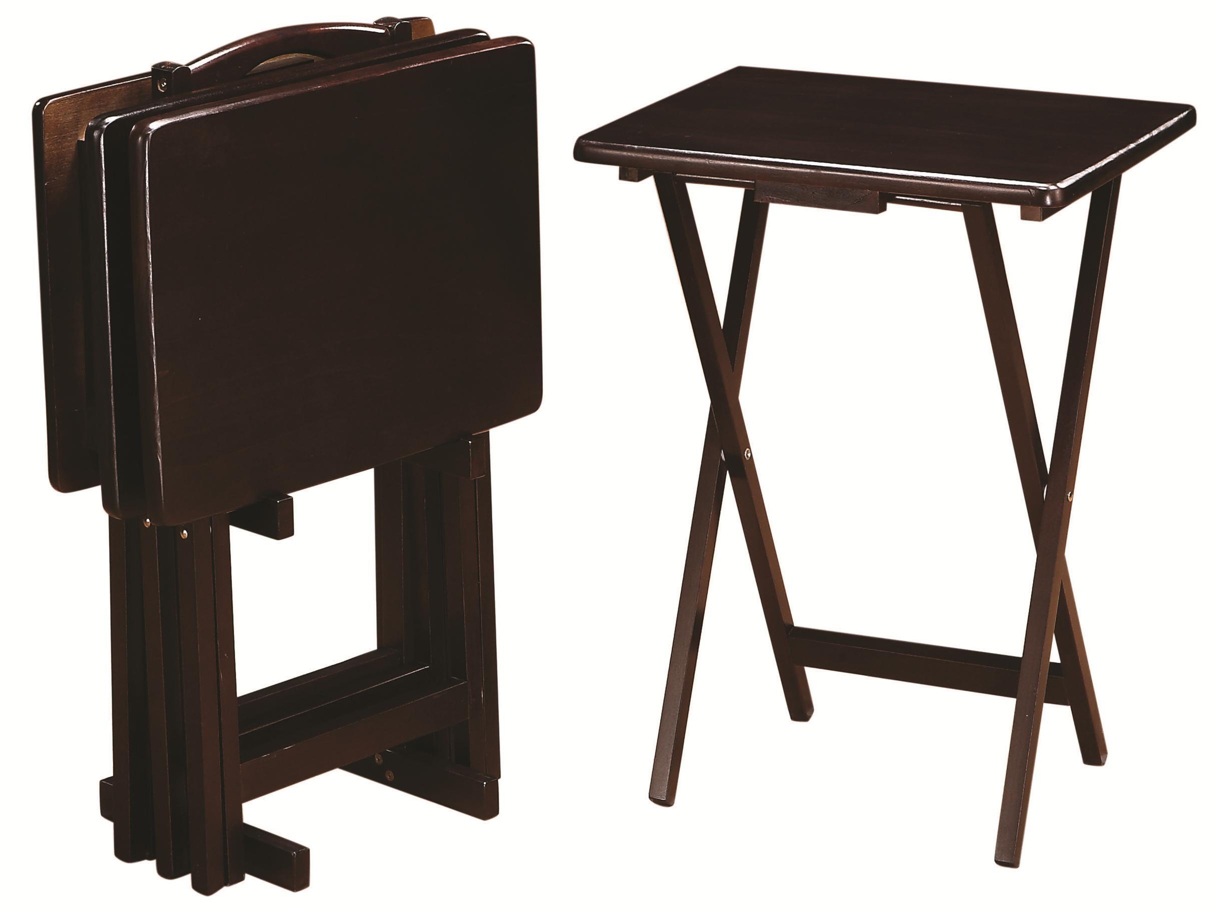 Coaster Tray Tables5 Piece Tray Table Set