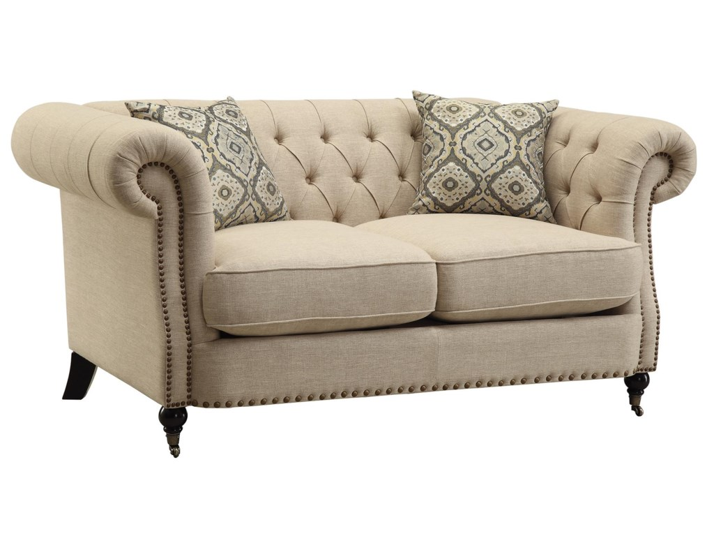 Coaster TrivellatoLoveseat