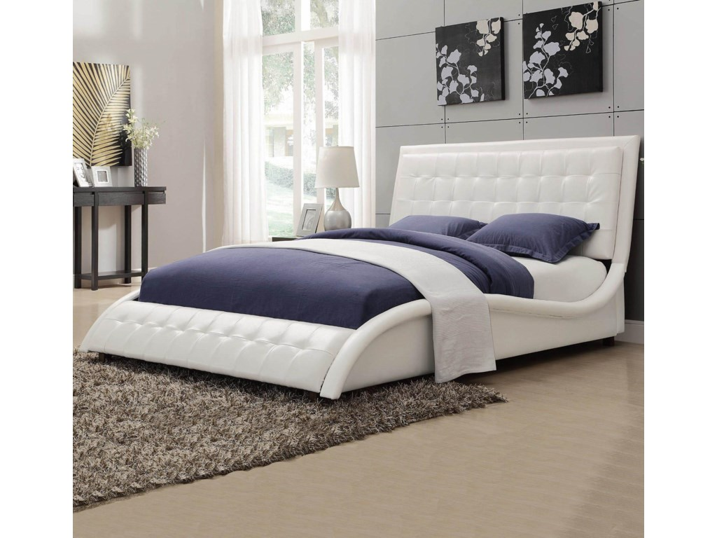 Coaster TullyUpholstered Queen Bed