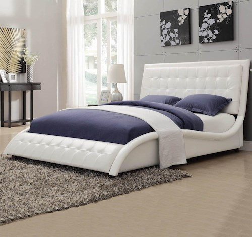 Coaster Tully Upholstered King Bed