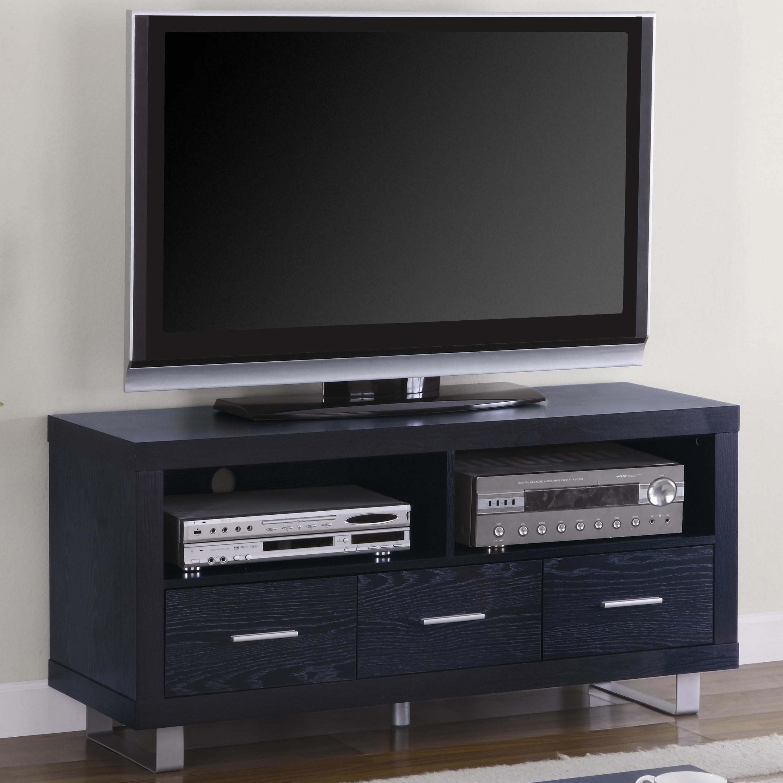 contemporary media console furniture. TV Stands Contemporary Media Console With Shelves And Drawers By Coaster Furniture .