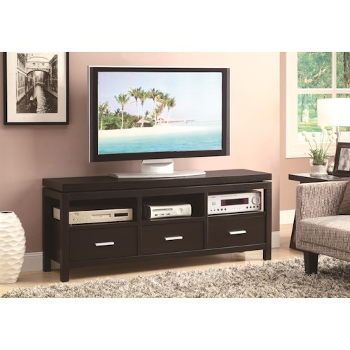 Coaster Tv Stands Contemporary Tv Console Furniture Superstore Rochester Mn Tv Stands