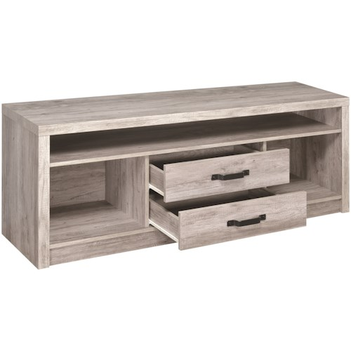 Coaster TV Stands Modern TV Console with Grey Finish
