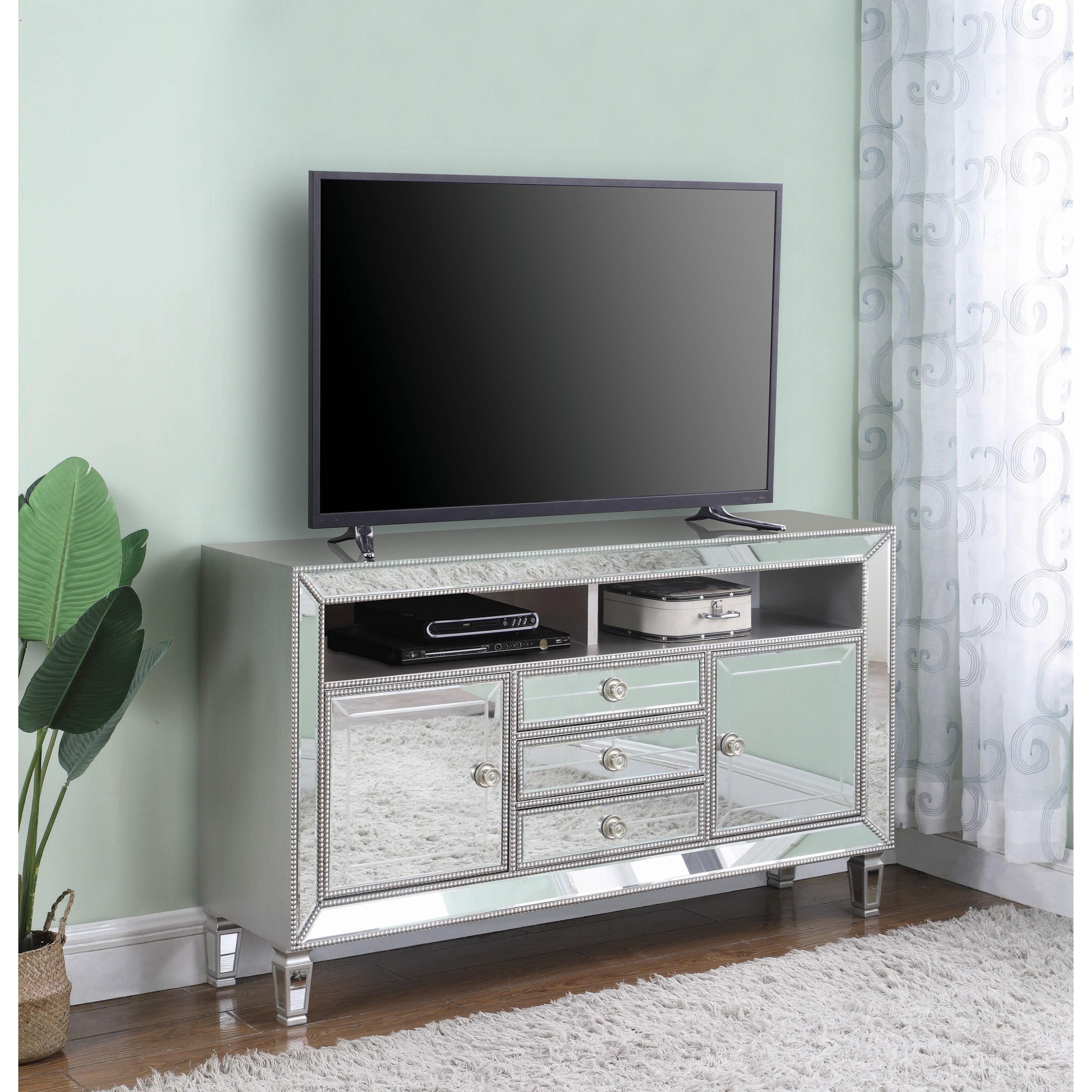 Coaster TV Console Cappuccino 700720