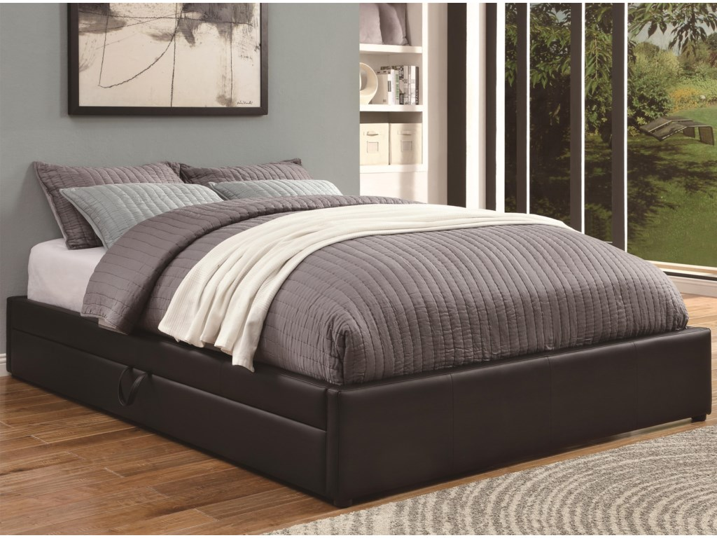 Coaster Upholstered BedsQueen Storage Bed