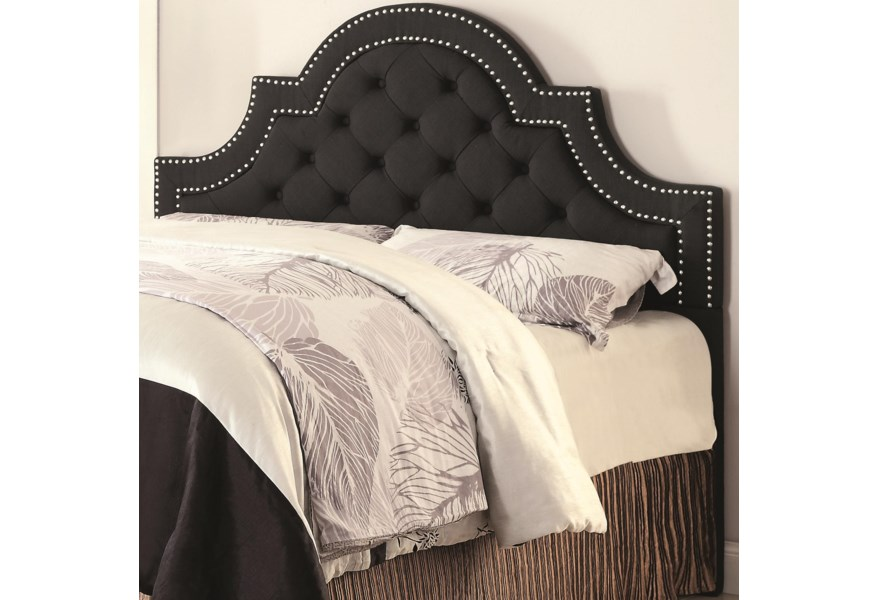 Coaster Upholstered Beds King California King Ojai Upholstered Headboard With Button Tufting Value City Furniture Headboards