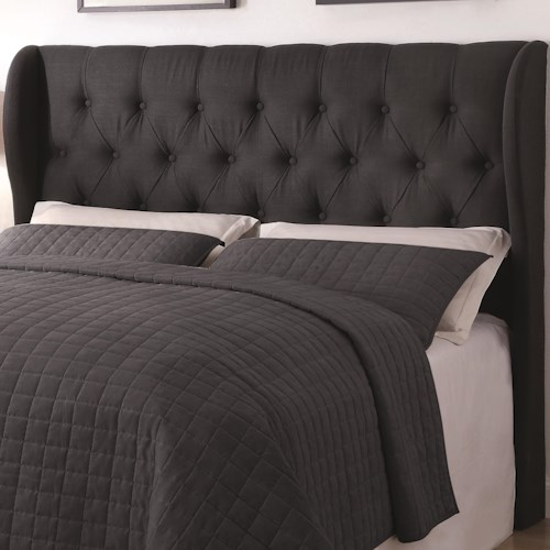 Coaster Upholstered Beds Queen/ Full Murrieta Headboard with Button Tufting