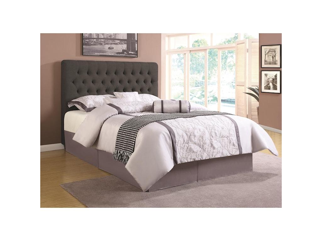 Coaster Upholstered BedsQueen Headboard