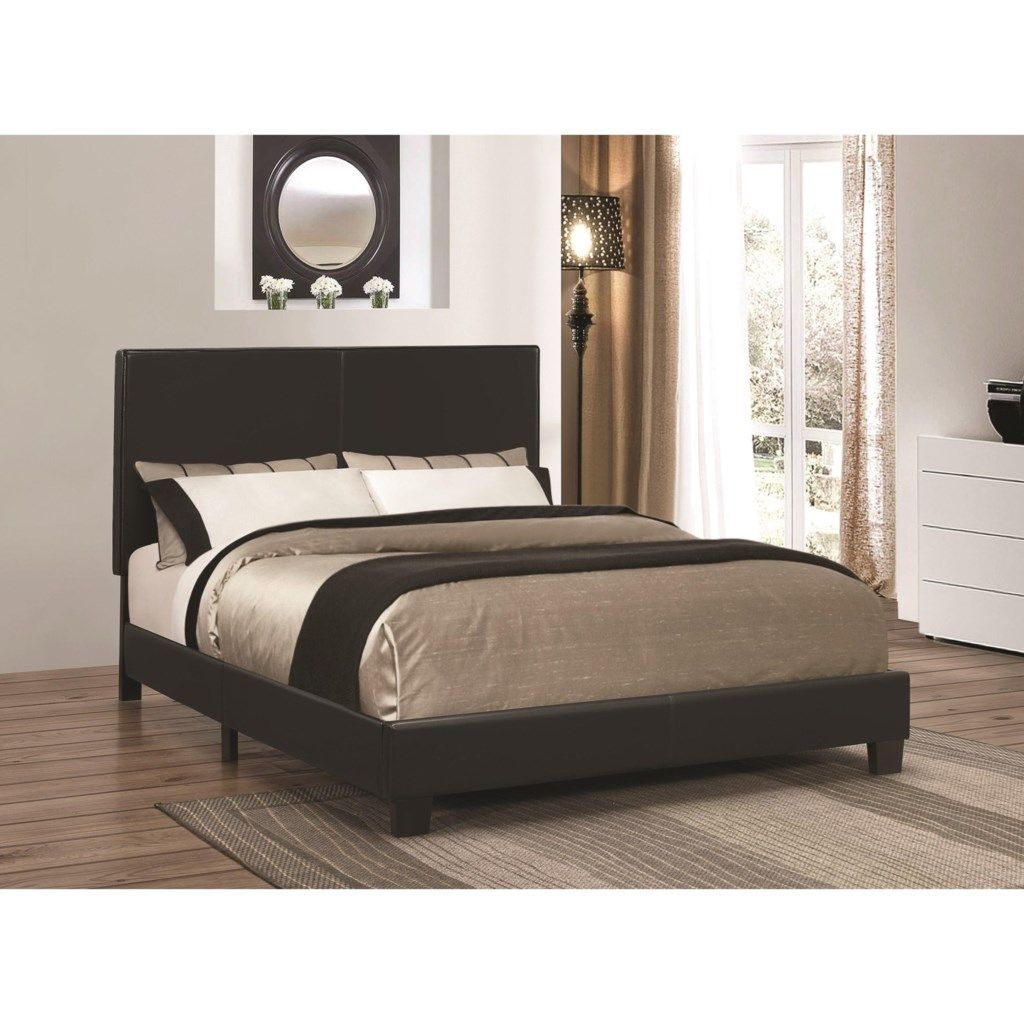 Coaster Upholstered Beds 300558q Upholstered Low Profile Queen Bed