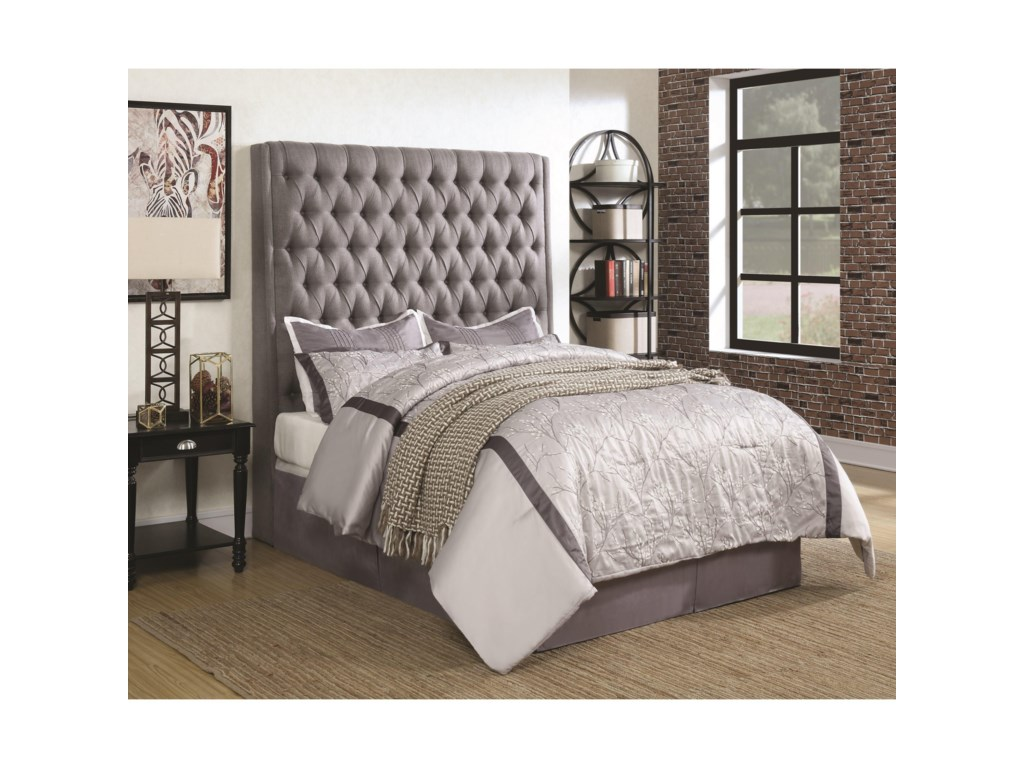 Coaster Upholstered BedsQueen Bed