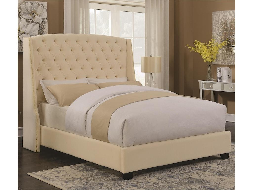 Coaster Upholstered BedsPissarro King Bed