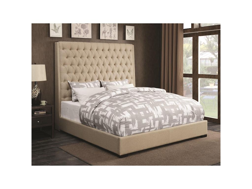 Coaster Upholstered BedsCal King Bed