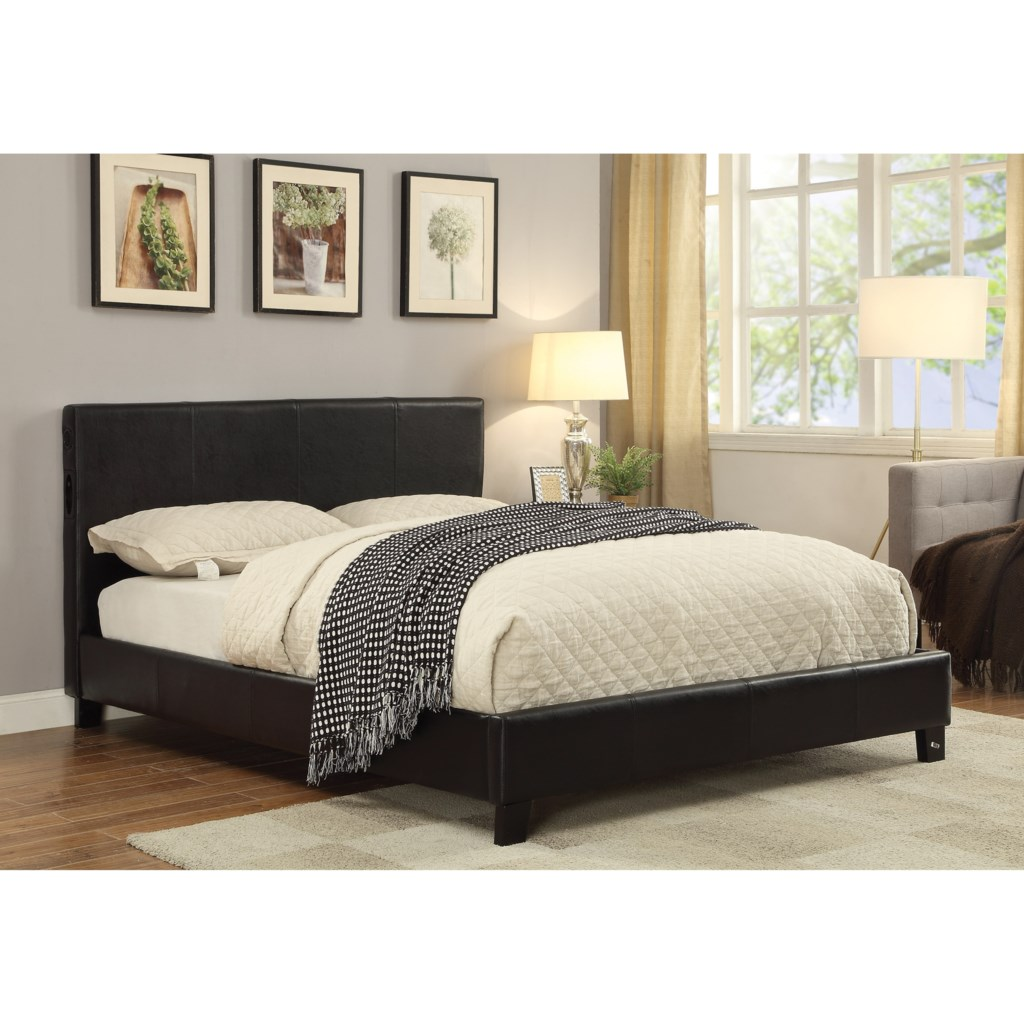 coaster upholstered beds 300751q upholstered queen bed with