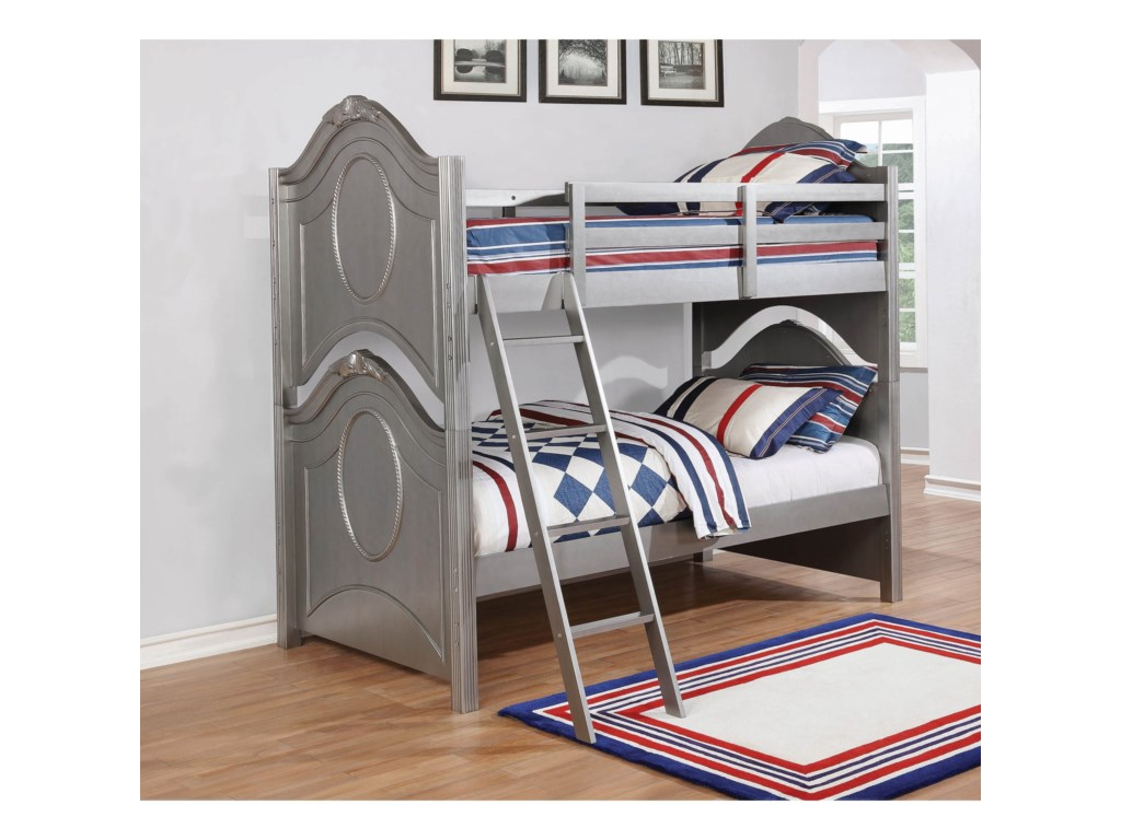 Coaster ValentineTwin/Twin Bunk Bed