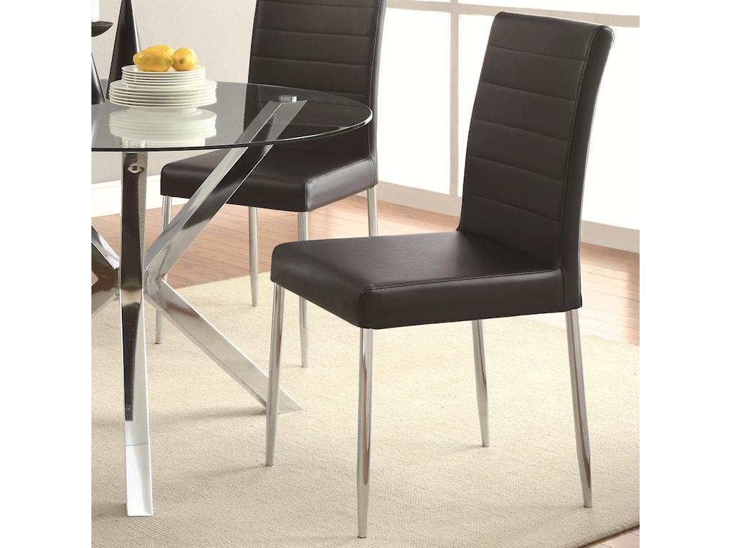 Coaster Vance5-Piece Glass Top Table Set