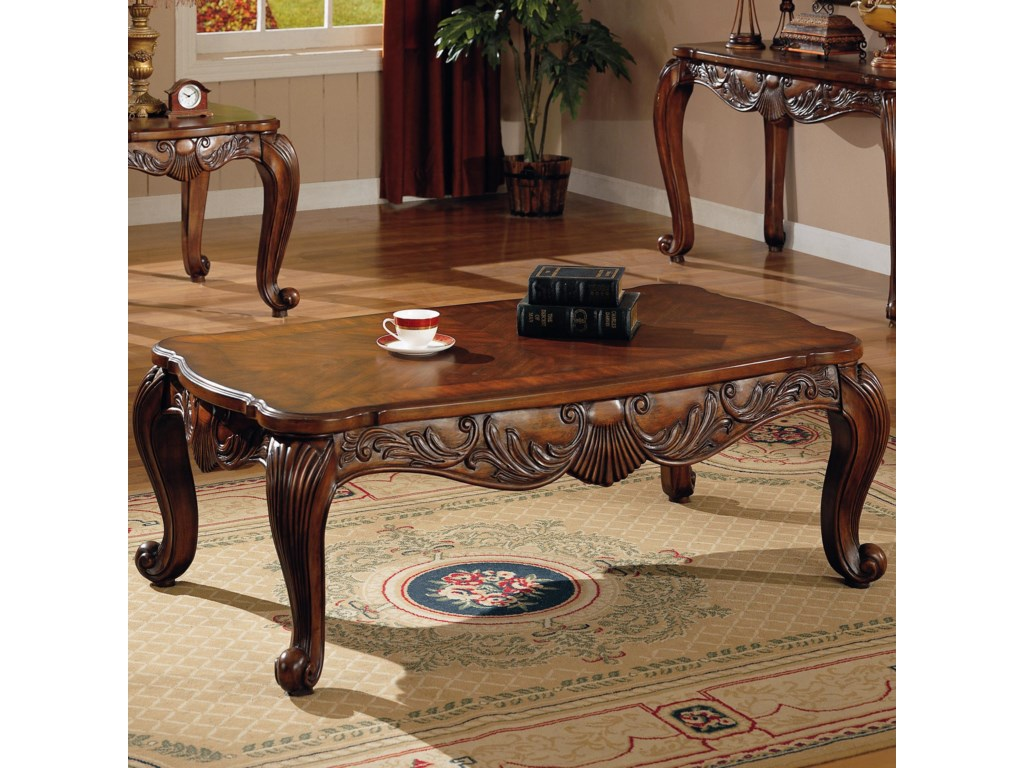 Venice Traditional Rectangular Tail Table By Coaster