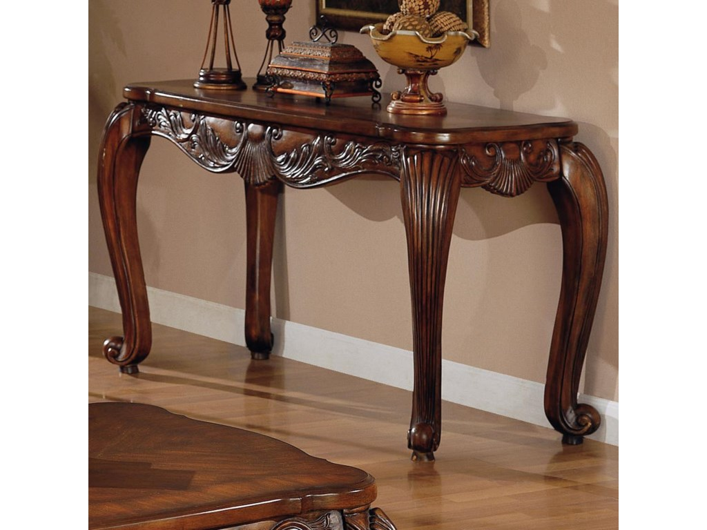 Coaster venice traditional sofa table dunk bright furniture coaster venice traditional sofa table dunk bright furniture sofa tablesconsoles geotapseo Gallery