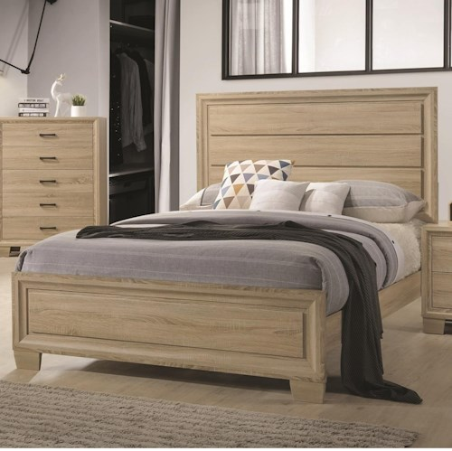Coaster Vernon King Transitional Style Bed