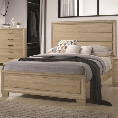 Coaster Vernon Queen Transitional Style Bed