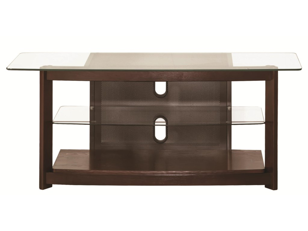 Dark Brown Tv Console By Coaster Home Stands Entertainment Units Unitstv