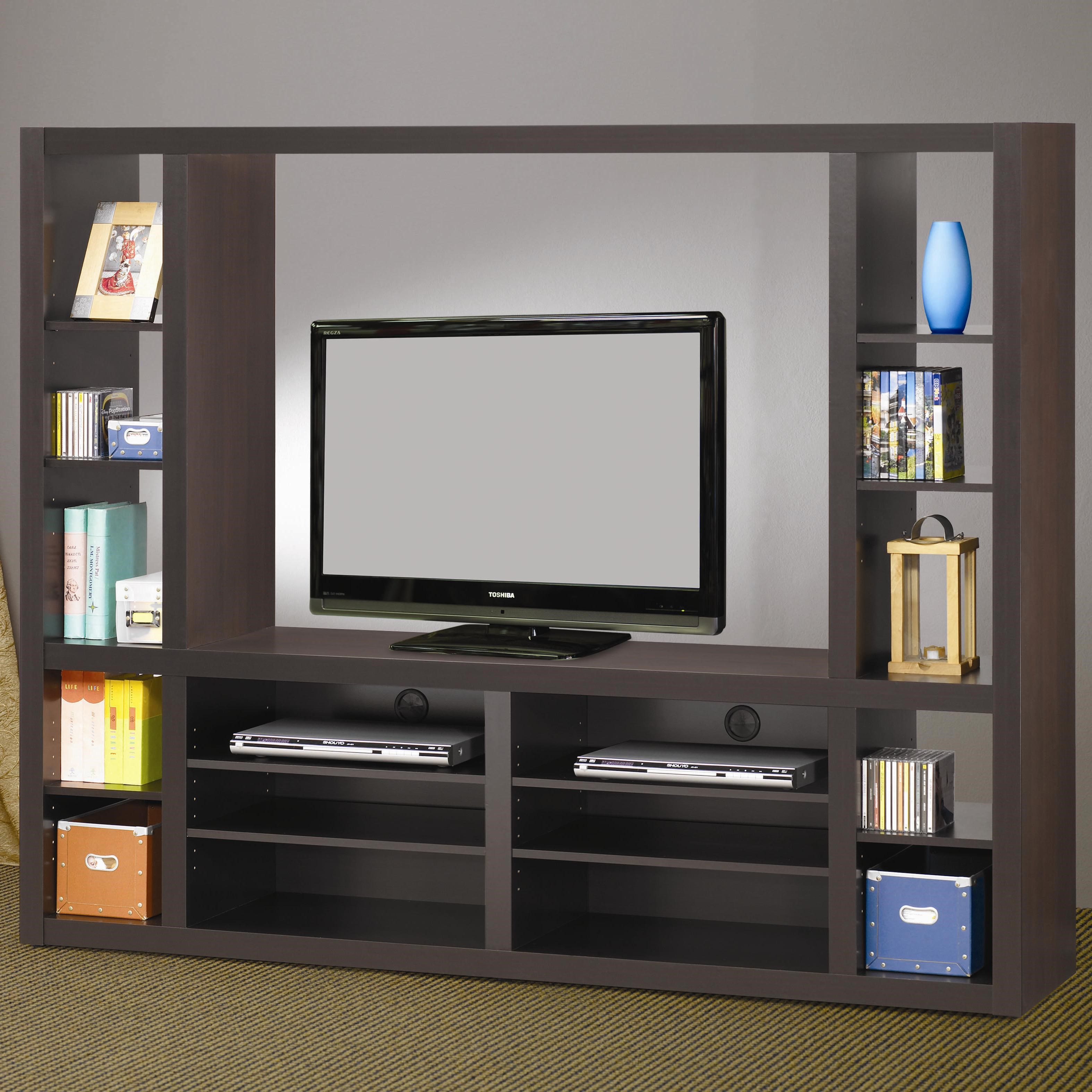 Coaster Entertainment Units Contemporary Entertainment Wall Unit Good Looking