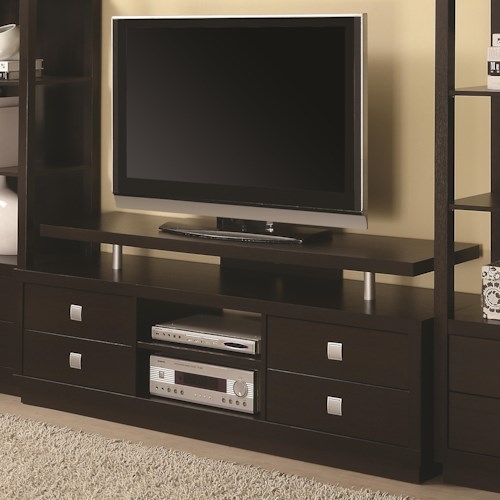Coaster Entertainment Units Casual TV Console
