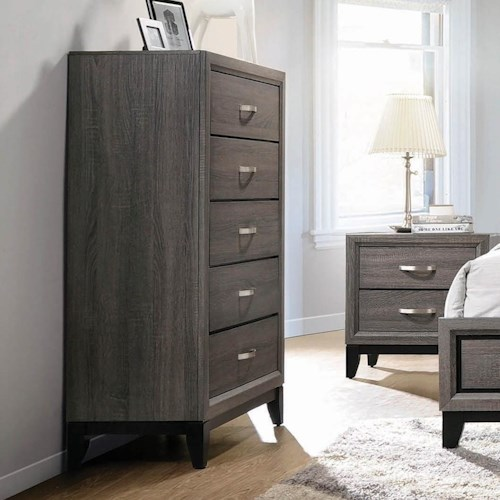 Coaster Watson Contemporary Chest with 5 Drawers