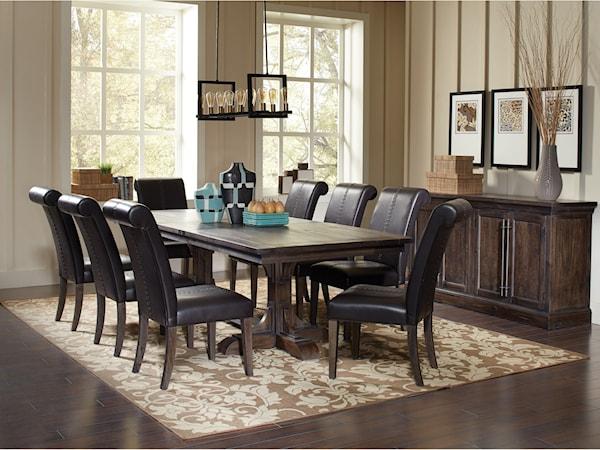 coaster weber formal dining room group - Formal Dining Room
