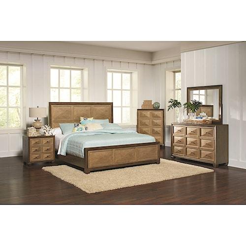 Coaster Wheatland King Bedroom Group