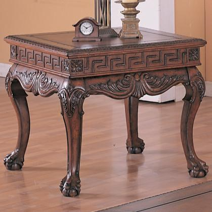 Coaster Wilshire Traditional Square End Table   Del Sol Furniture   End  Tables
