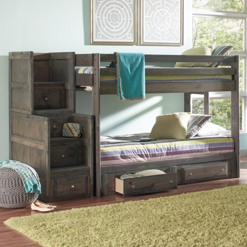 Coaster Wrangle Hill Full Bunk Bed Northeast Factory Direct Bunk
