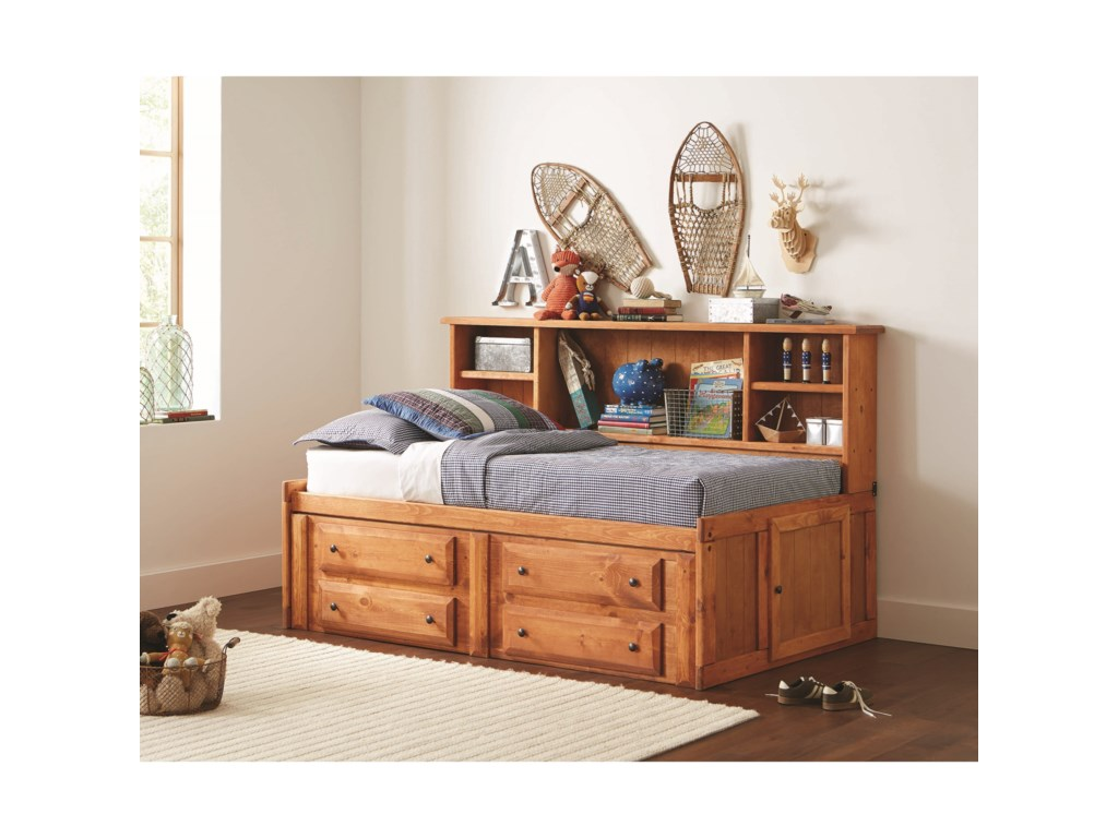 Coaster Wrangle HillTwin Storage Daybed