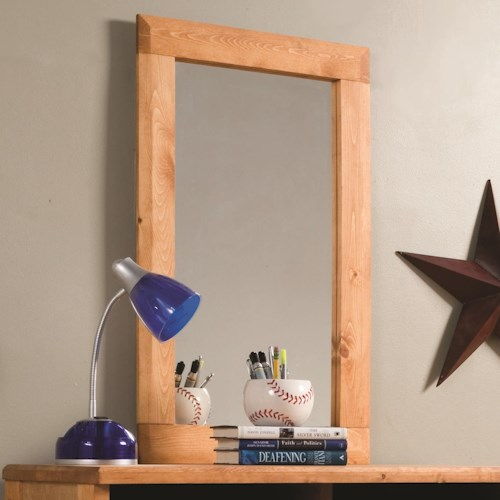 Coaster Wrangle Hill Tall Rectangular Mirror
