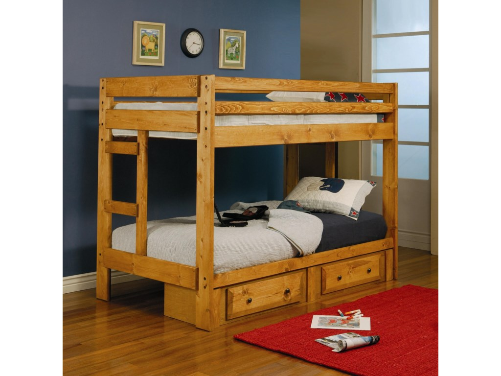 Coaster Wrangle HillTwin Bunk Bed