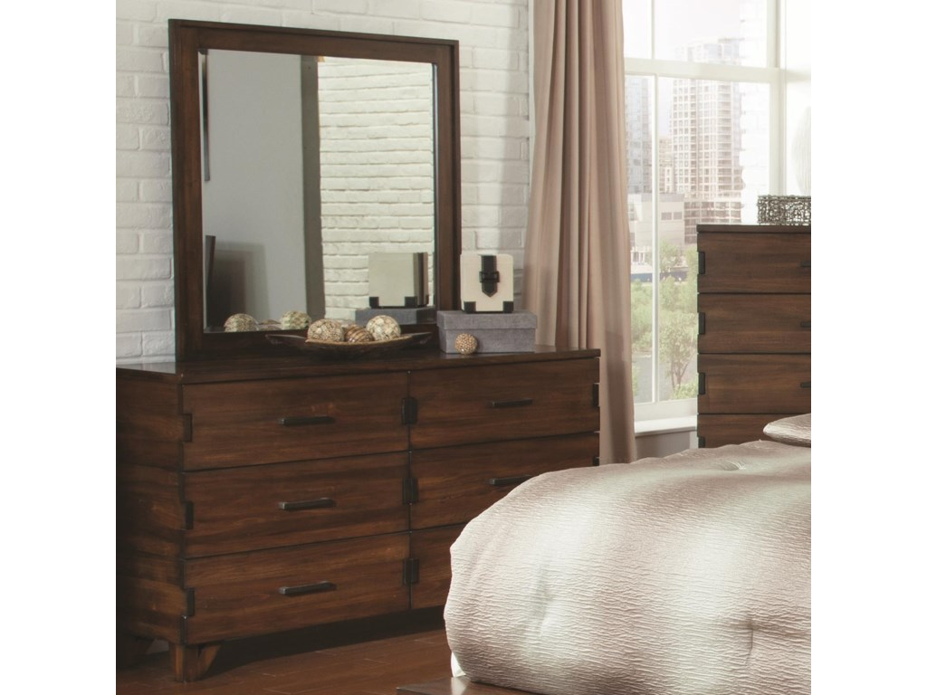 Coaster YorkshireDresser and Mirror Combo