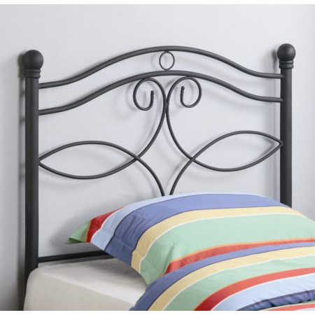 Twin Metal Headboard