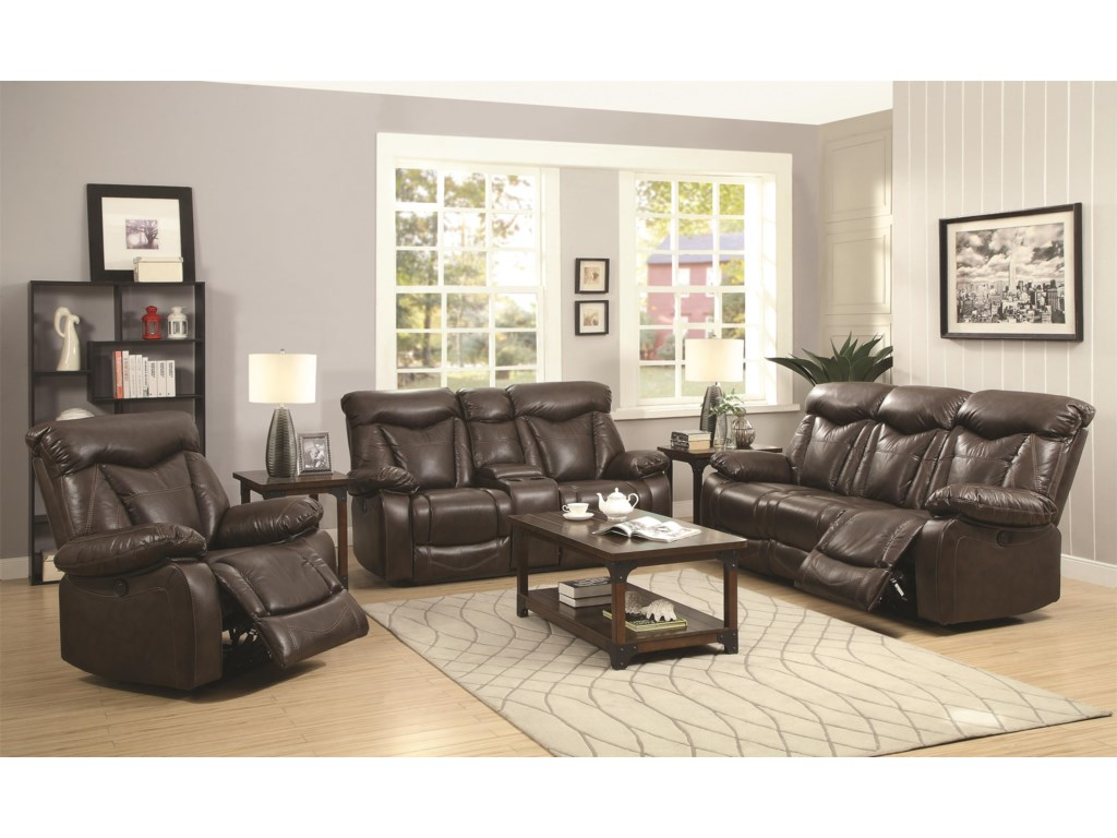 Coaster ZimmermanPower Reclining Love Seat