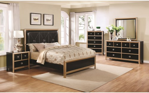 Coaster Zovatto King Bedroom Group