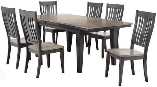 Cochrane Beach House Gray Table U0026 4 Chairs