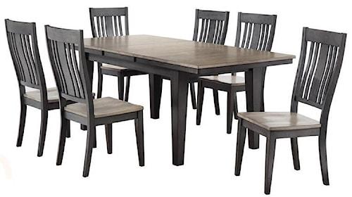 cochrane dining room furniture. Cochrane Beach House Leg Dining Table w  1 18 Self Storing Leaf