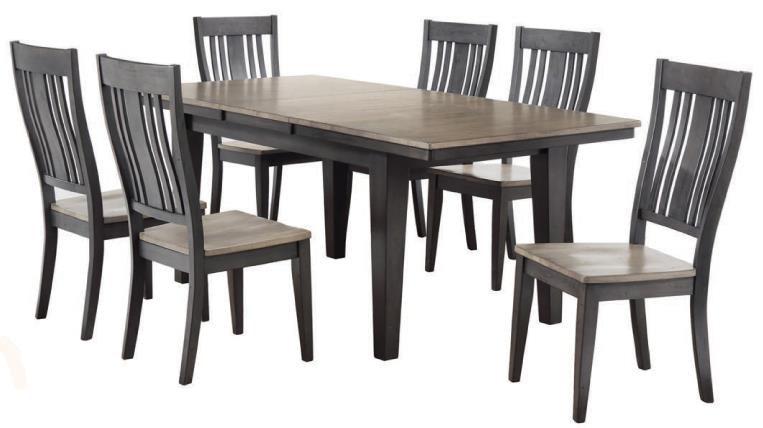 Cochrane Beach House Leg Dining Table W/ 1   18