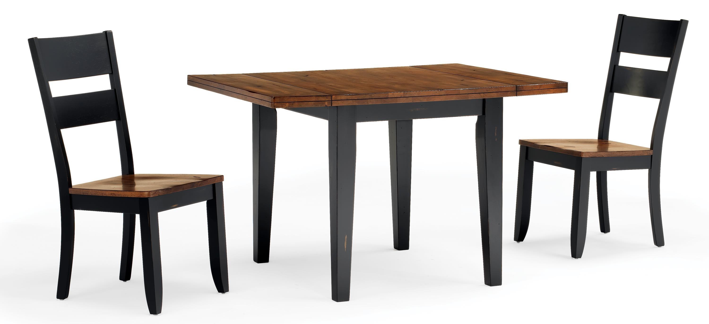 Cochrane Beavercreek Drop Leaf Table W/2 9