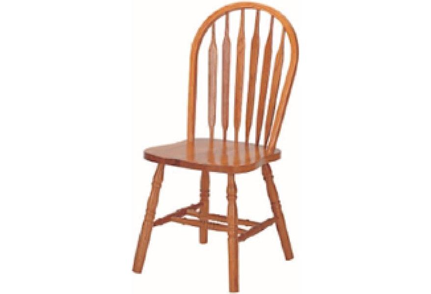 Cochrane Classic Oak Arrowback Chair Westrich Furniture Appliances Dining Side Chairs