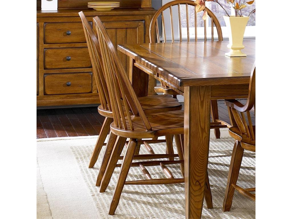Liberty Furniture TreasuresBow Back Side Chair