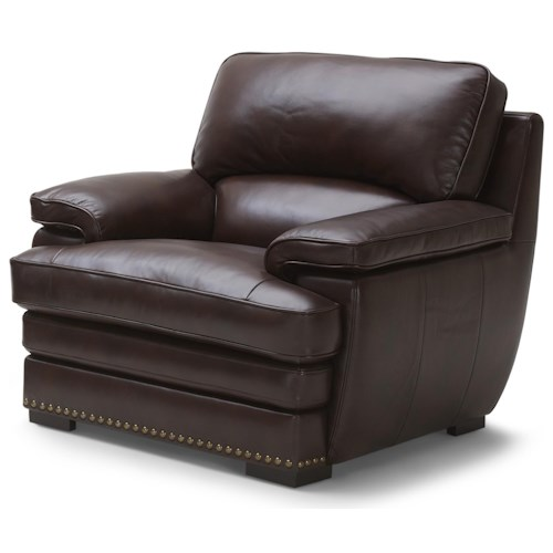 Warehouse M 3301 Brown Leather Chair