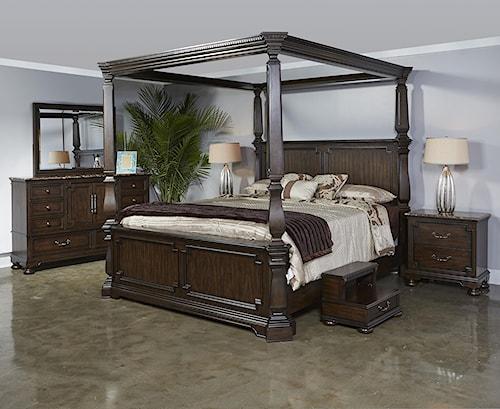 Najarian Vienna Queen Canopy Bed