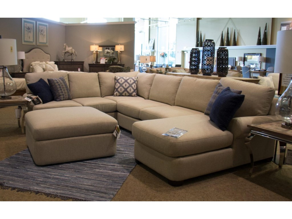 Bassett Monterey 3 Pc. Sectional Sofa - Great American Home Store ...