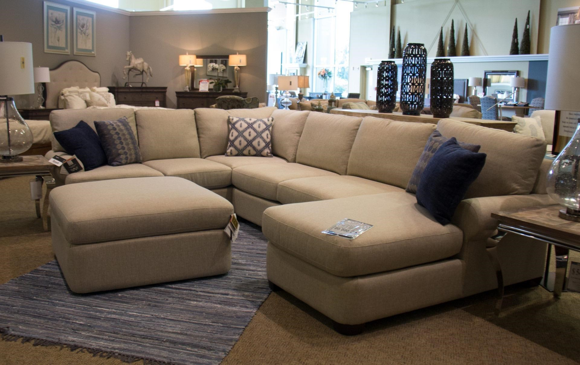 Bassett Monterey 3 Pc. Sectional Sofa - Great American Home Store - Sectional Sofas  sc 1 st  Great American Home Store : bassett sectional sofa - Sectionals, Sofas & Couches
