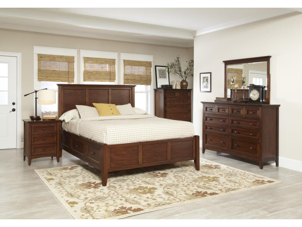 Avalon Furniture Beacon StBedroom Group